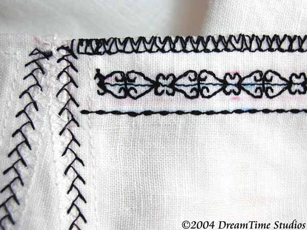 Embroidered Tudor Shift Warderobe Accounts Kimiko1